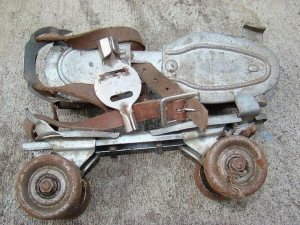 very old skates